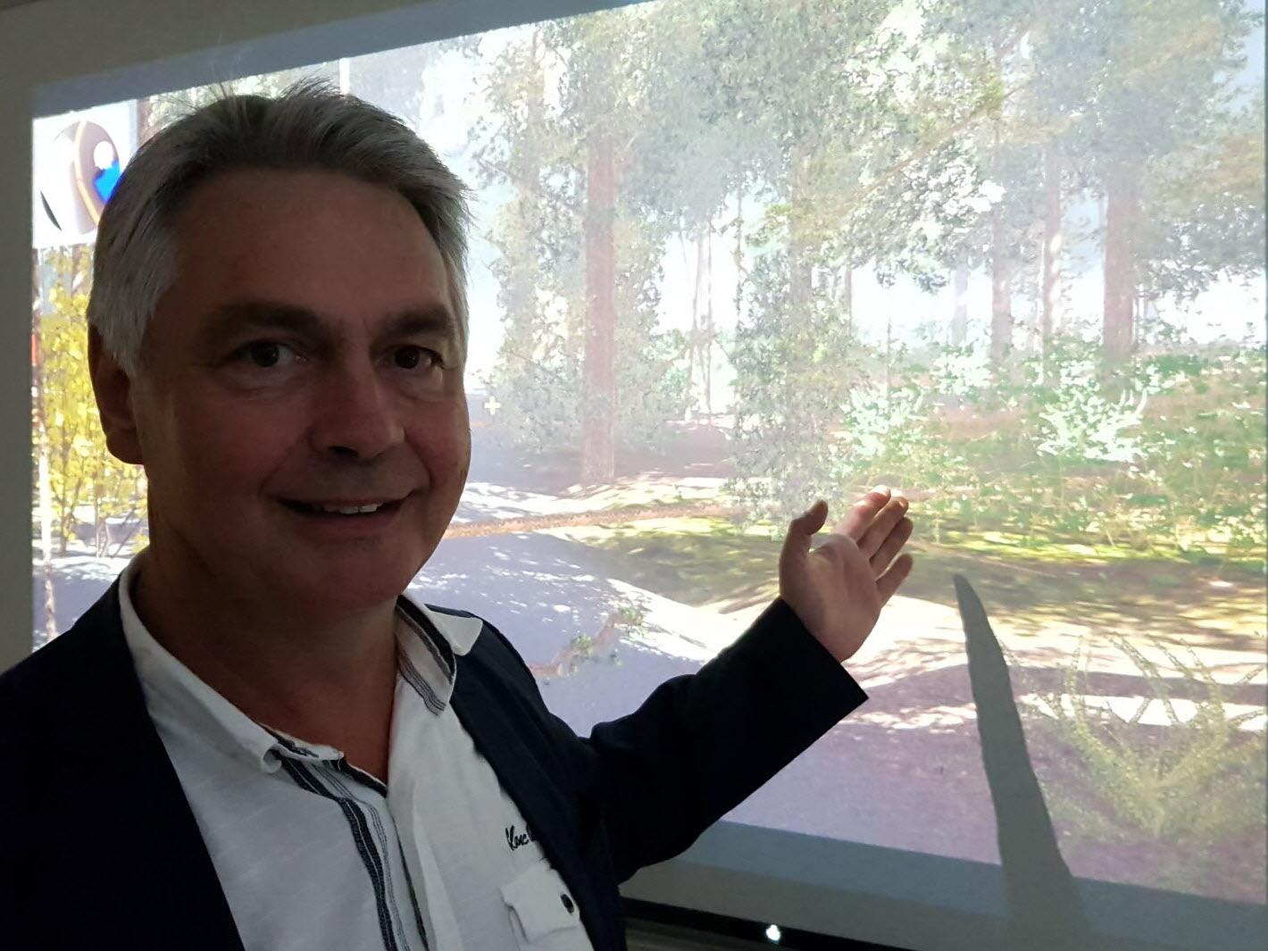 Michel GUYOT, chef de projet Silva Numerica