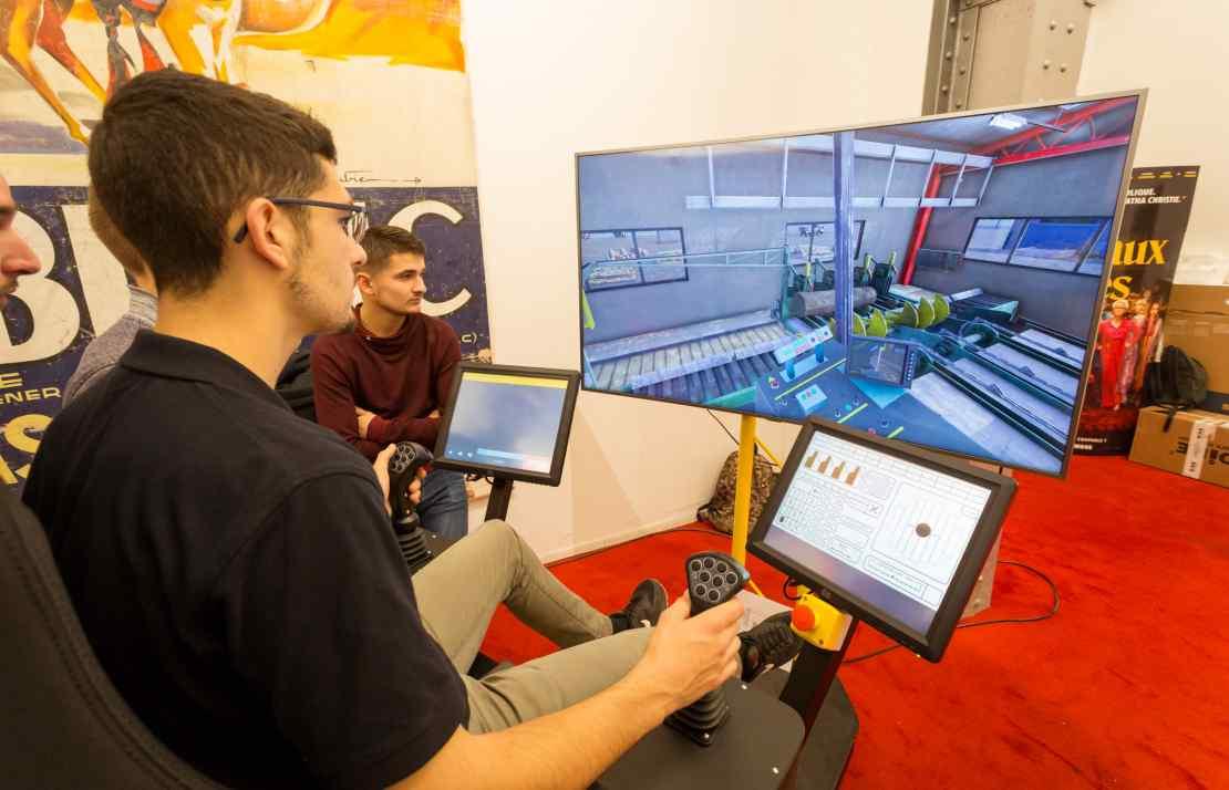 simulateur de sciérie